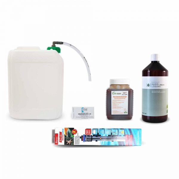 EM_Ansetzpaket mit Basislösung_Pflanzen_Produktfoto