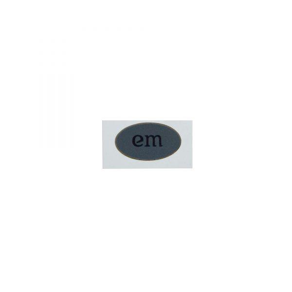 EM_Kin_Sticker_dunkelgrau_1Stueck_Produktfoto