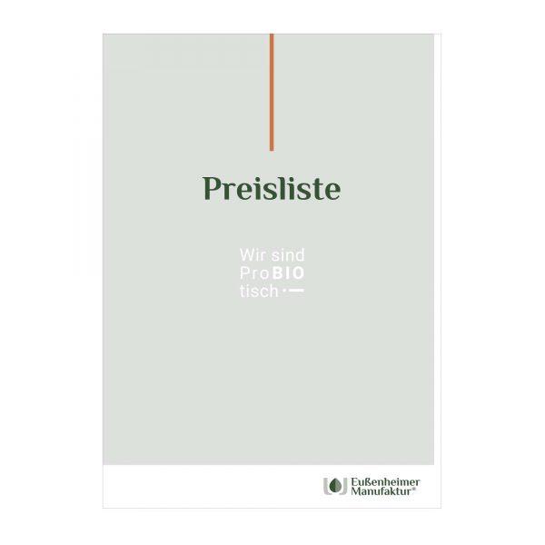 Preisliste_Eussenheimer-Manufaktur